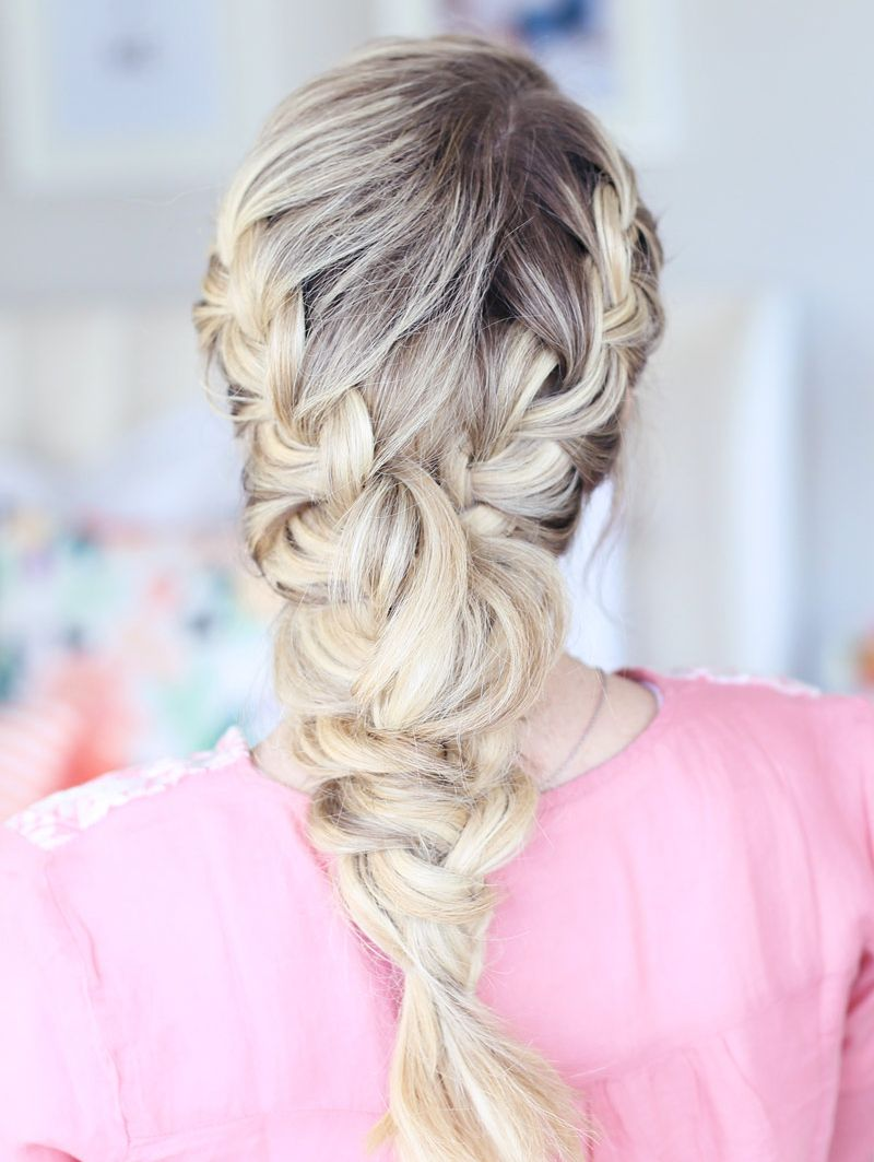10 Messy Braids You Can Totally Wear to Work #messybraids