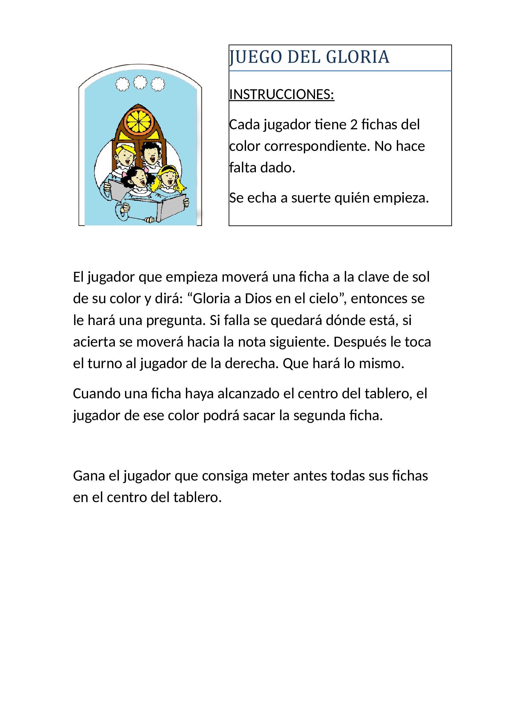 Juego Gloria Reglas La Samaritana Juegos De Nueva Evangelizacion