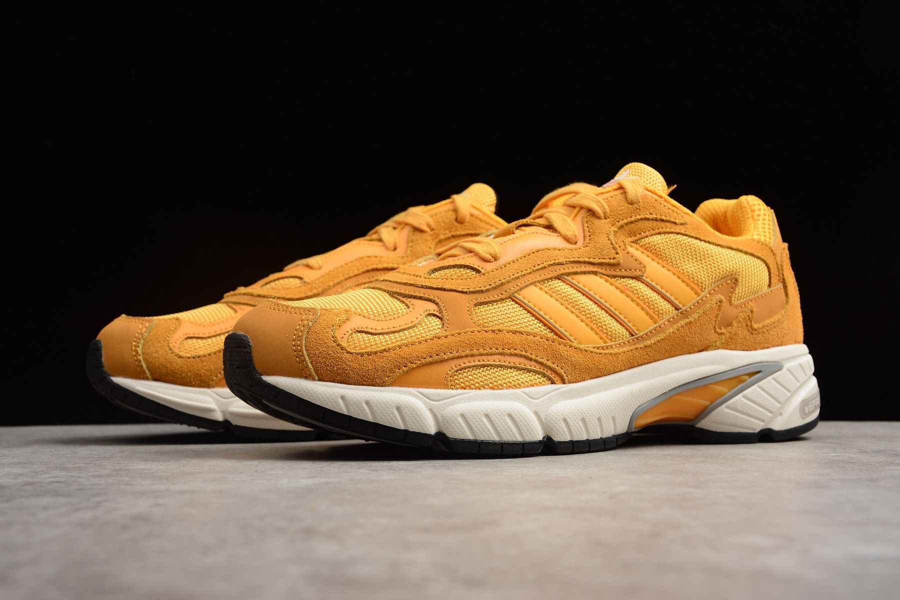 New adidas Originals Temper Run Jaune G26001 adidas Temper Run