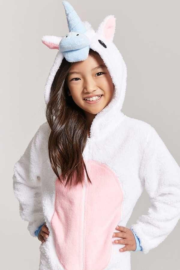 5e89cd3f1f0f FOREVER 21 girls Girls Unicorn PJ Onesie (Kids)  affiliate