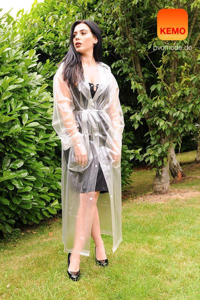 hey raincoat girl zeitloser look f r graue regnerische. Black Bedroom Furniture Sets. Home Design Ideas
