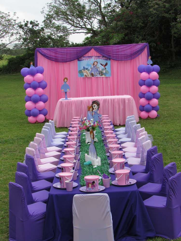 Princess Sofia Birthday Party Ideas Princess sofia