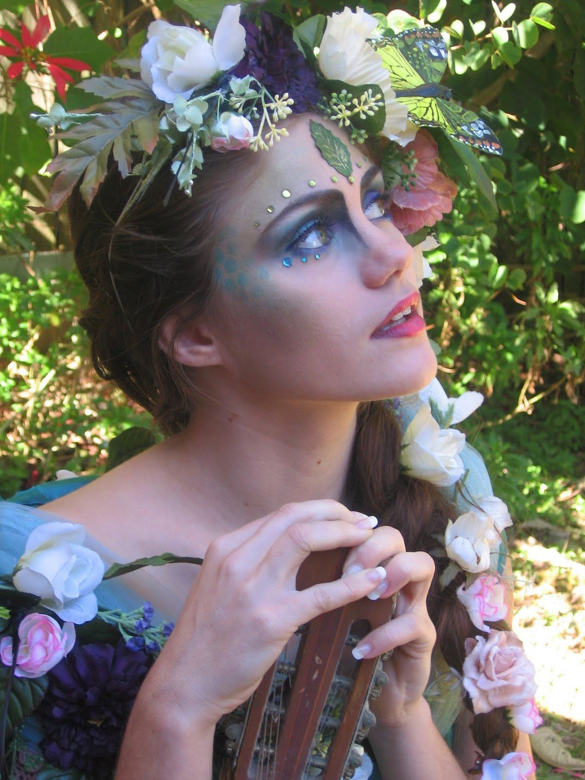 lilcammo93: Mother Nature Inspired Makeup   halloween in ...
