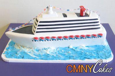 Luxury Cruise Ship Cake Wish I Had Time To Make This One - Cruise ship cake