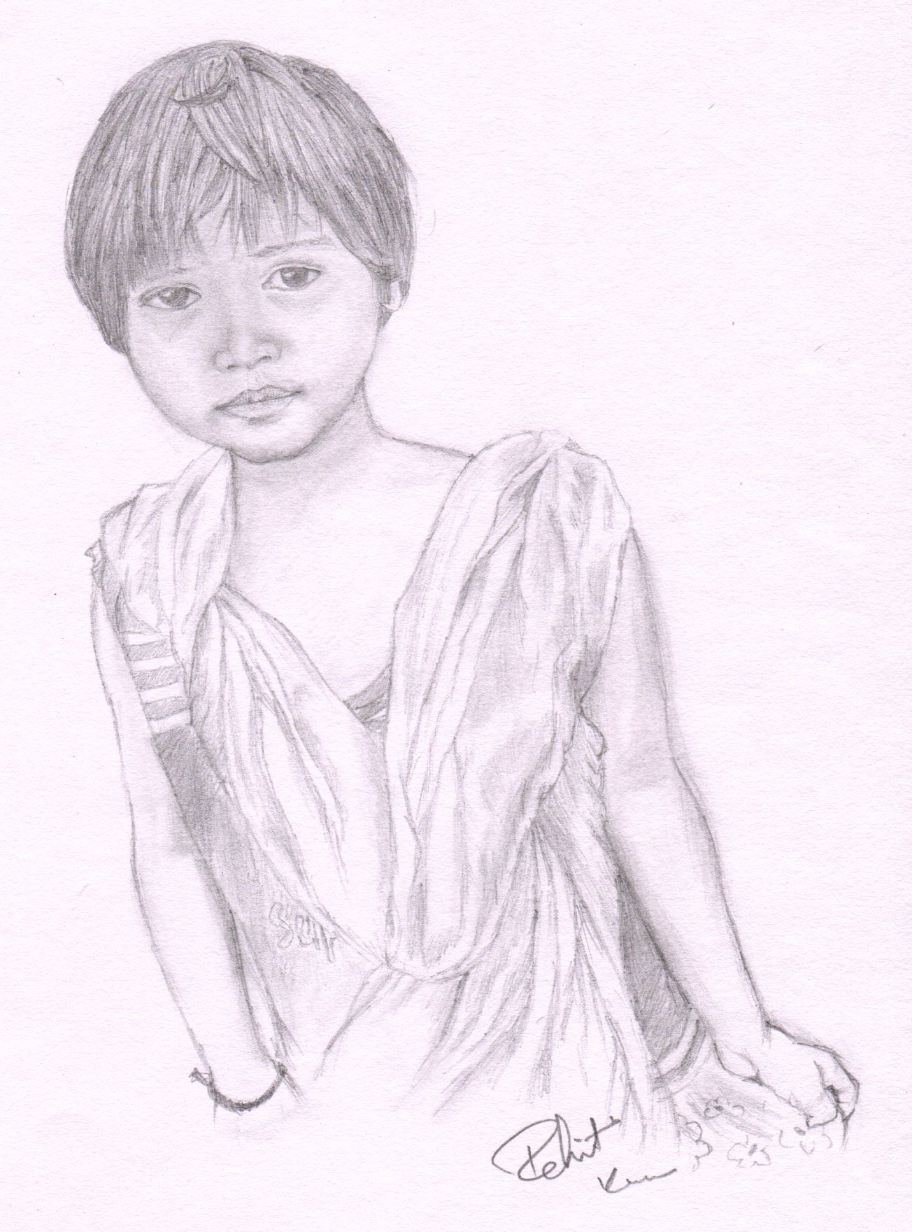Sketch with hb pencil take 1 hour time pencil drawings pencil