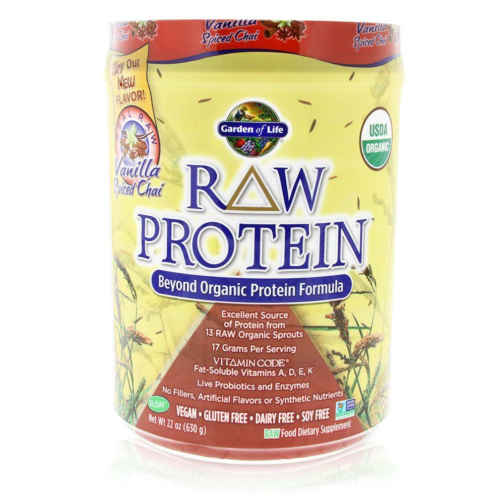 Chice Cream Raw protein, Organic protein, Vanilla spice