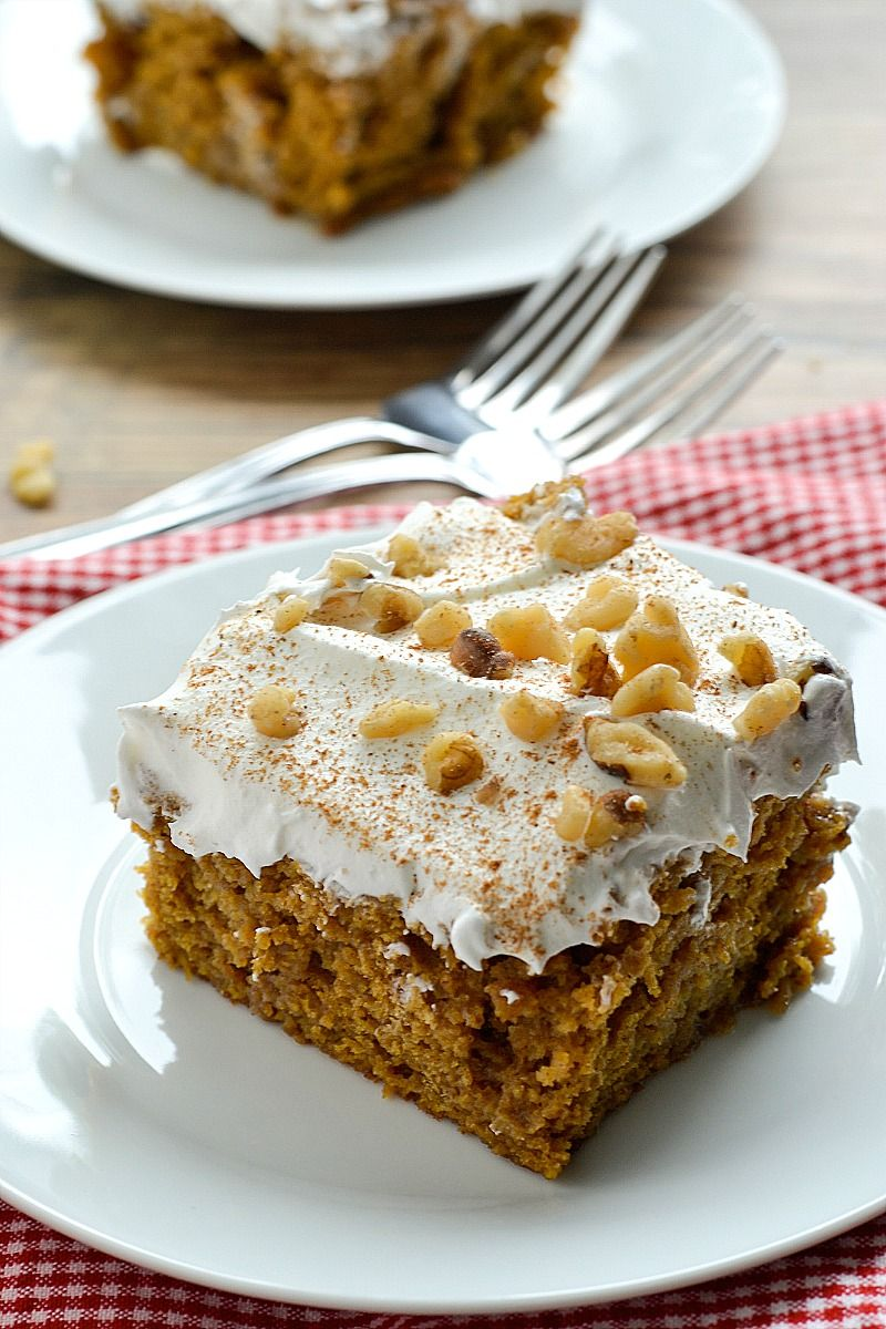 Better than anything pumpkin spice cake recipe spice