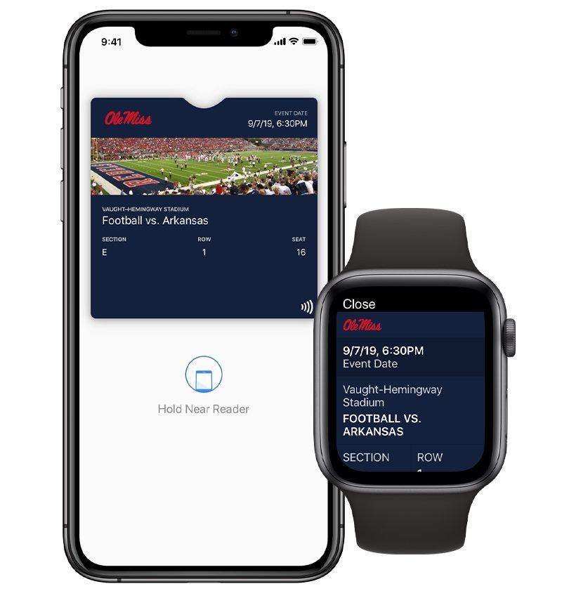 News Apple Ios Contactless Ticket Support Coming To Apple Wallet For College Sports College Sports College Athletics Apple