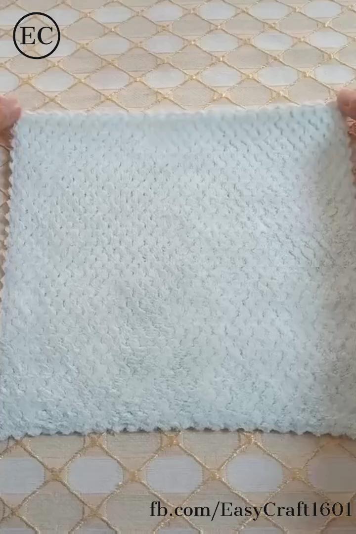 Amazing creative for folding napkin