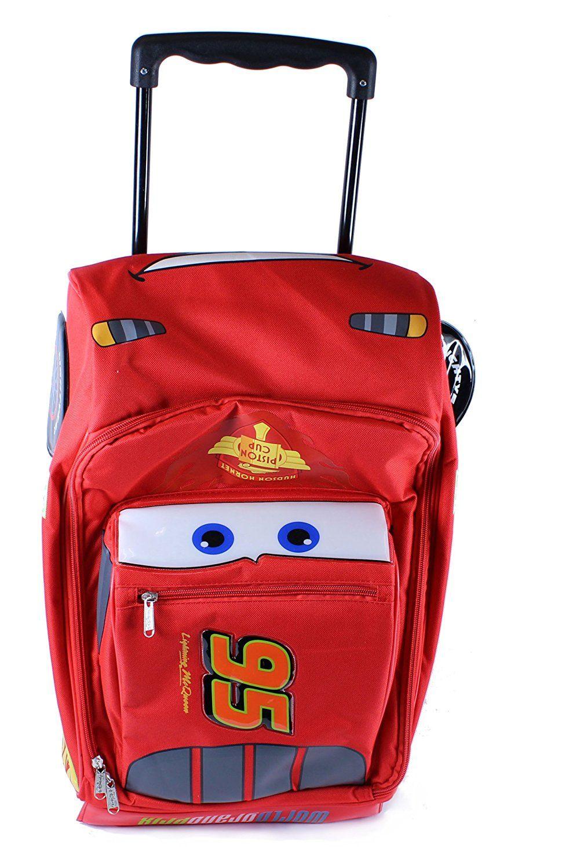Disney Pixar Cars Large Rolling Luggage More Info