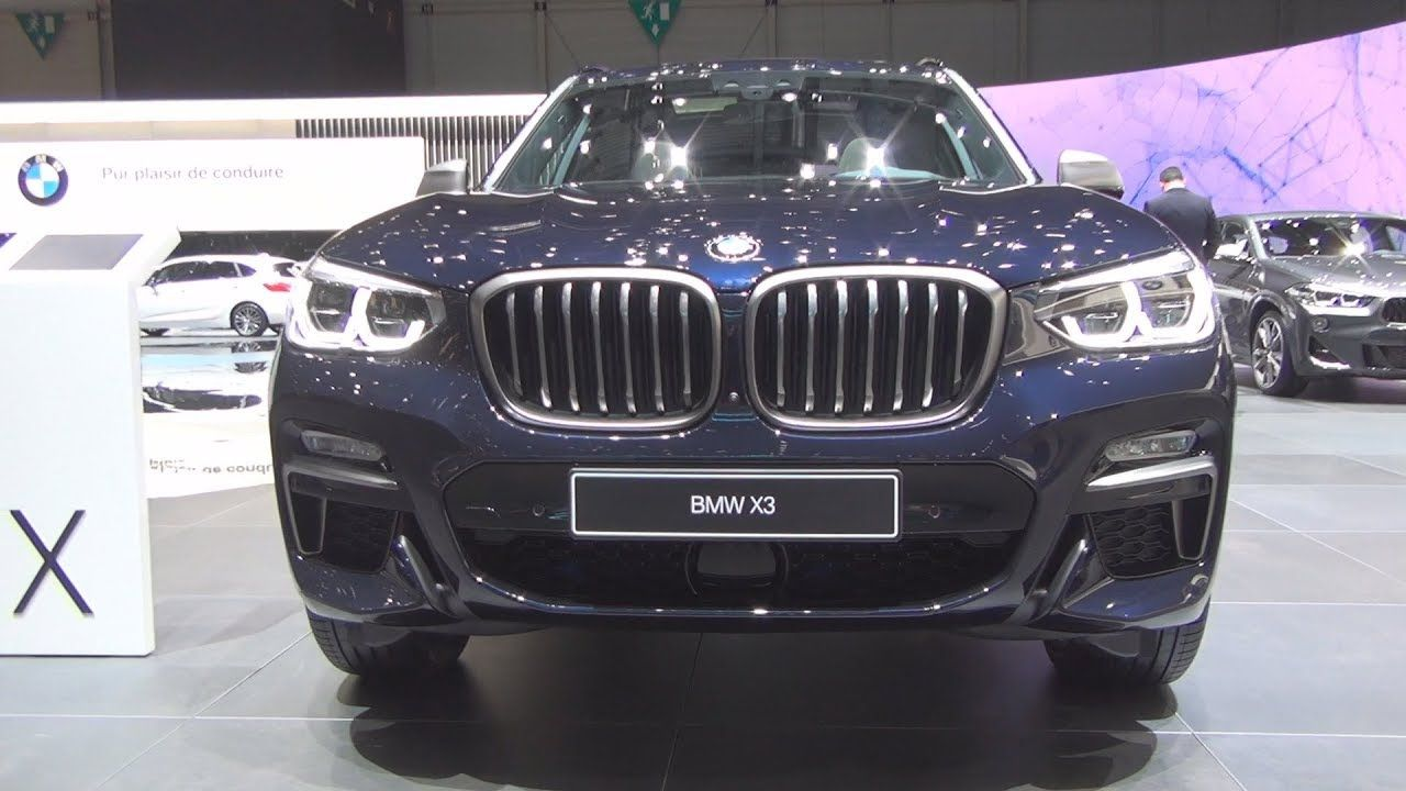 Bmw X3 M40i Xdrive 2019 Exterior And Interior With Images