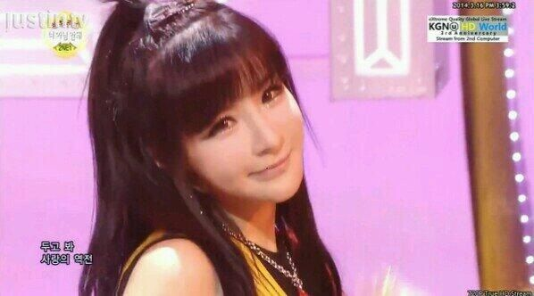 Park bom @ sbs inkigayo performing 'Gotta Be You'
