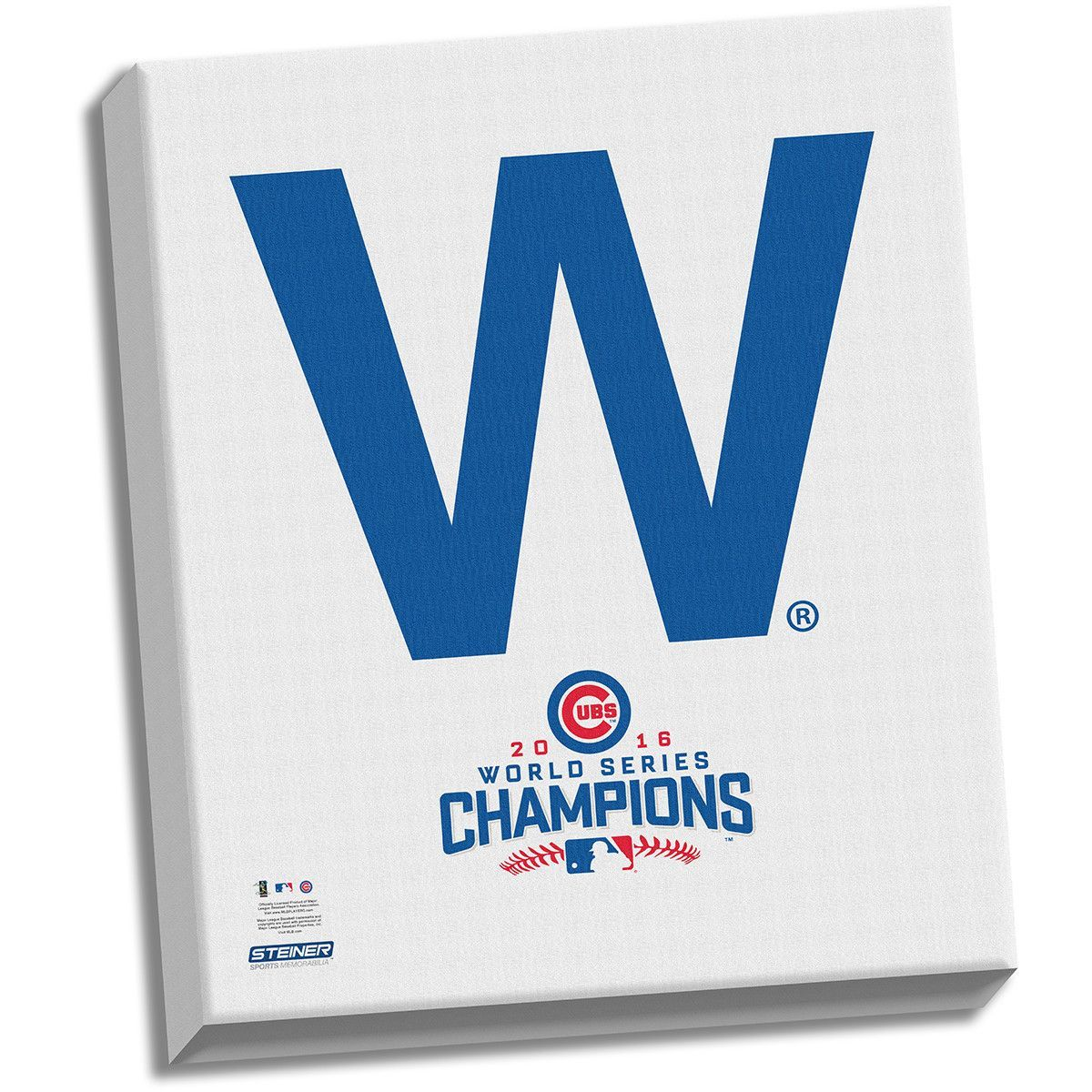 Chicago Cubs \'The W\' 2016 World Series Champions 22x26 Celebration ...
