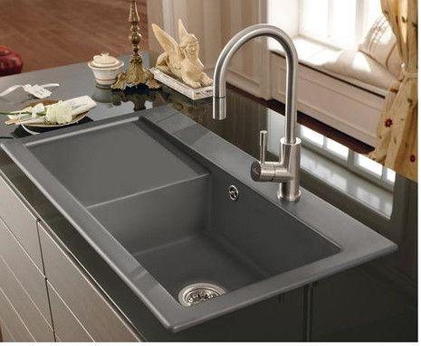 Subway 60 Xl Zlewozmywak Ceramiczny Http Www Hansloren Pl Zlewozmywaki Ceramiczne Sink Ceramic Kitchen Sinks Single Bowl Sink