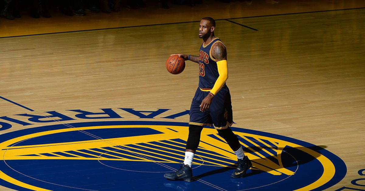 Is there a nine-year-old kid left in America pretending to be LeBron James? They all want to be Steph Curry.