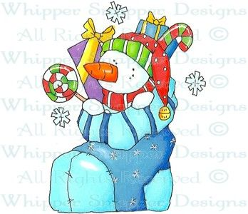 Mini-Me Candy Stocking - Christmas Images - Christmas - Rubber Stamps - Shop