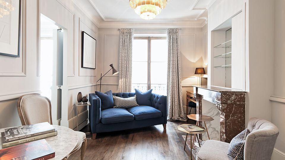 Rent this fully remodeled one bedroom, one bathroom apartment with a dreamy location in the stylish 6th arrondissement