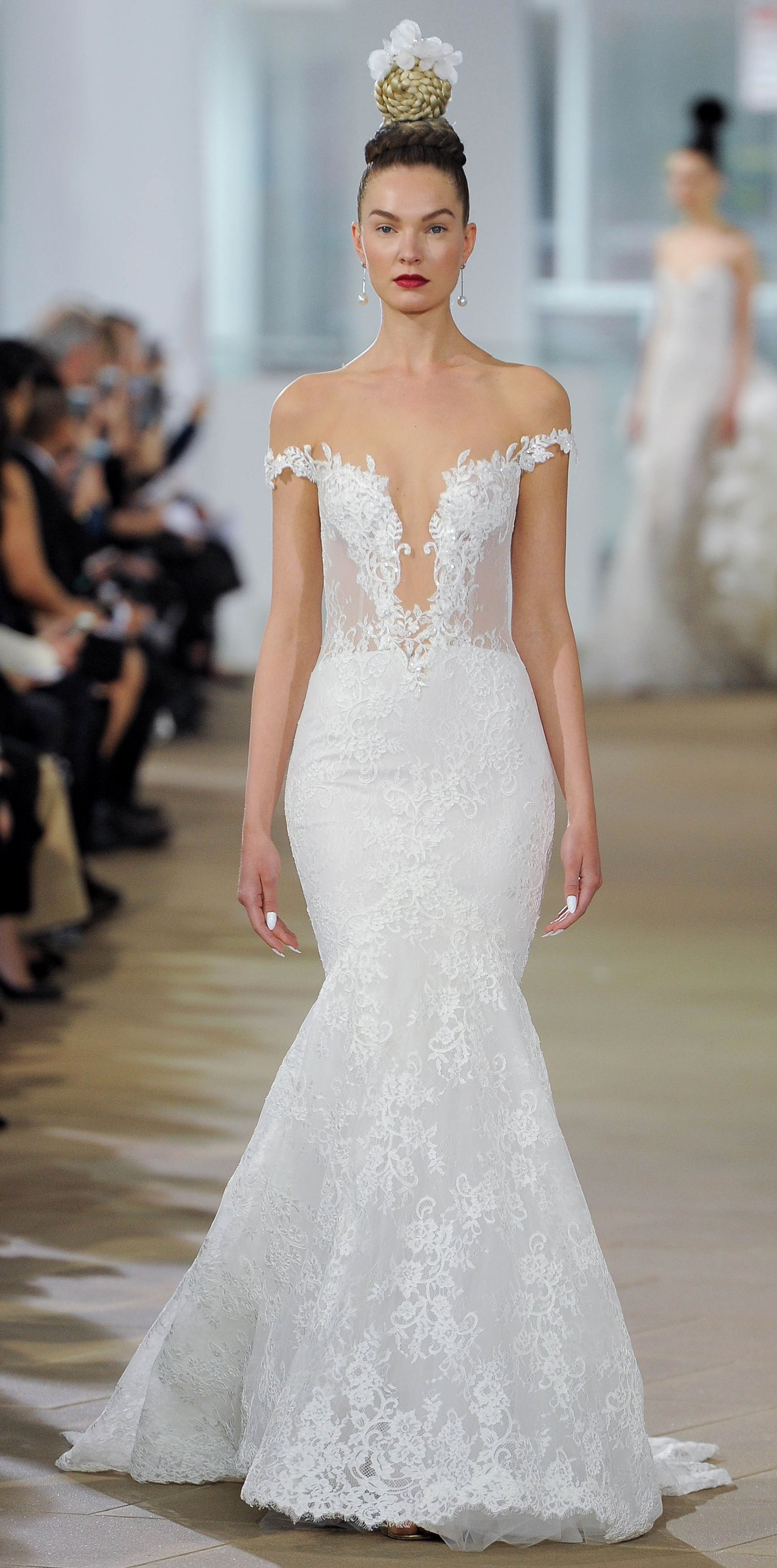 Wedding dress trends from spring bridal fashion week fashion
