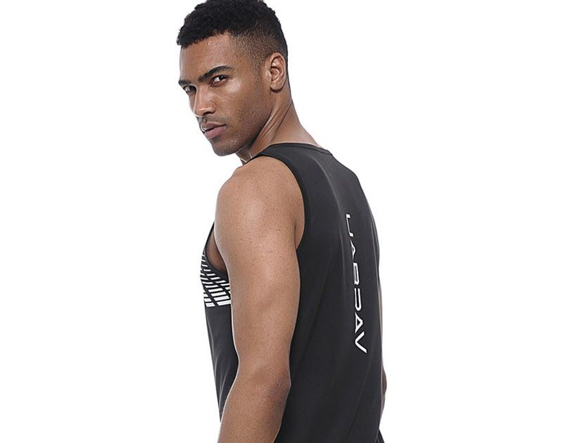 6ecfe7467c1c06 Discount Up to 50% Men s Quick Dry Tank Tops Running Vest Fitness Sleeveless  Undershirts Male Tank Top Gym Men Loose Sport Vest Plus Size S-XXL