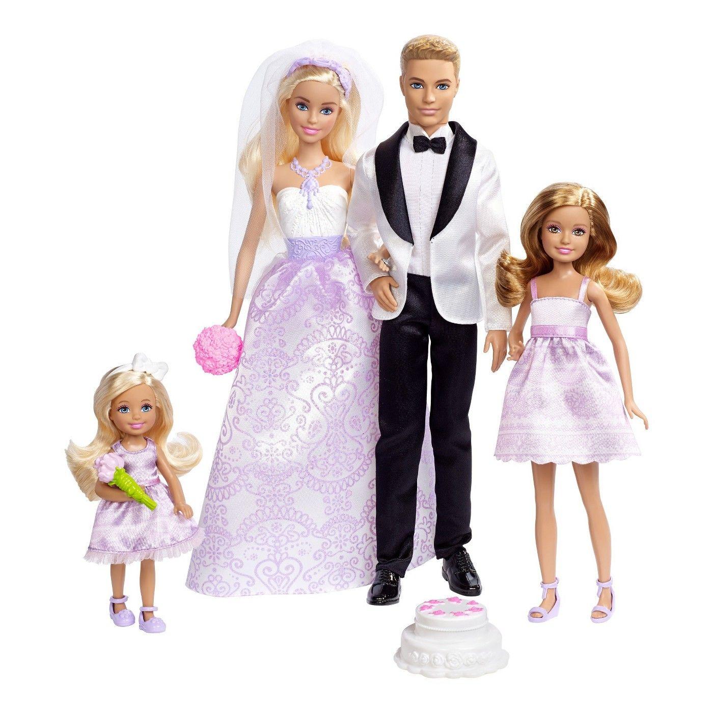 Barbie Wedding Gift Set image 1 of 7 Barbie bride