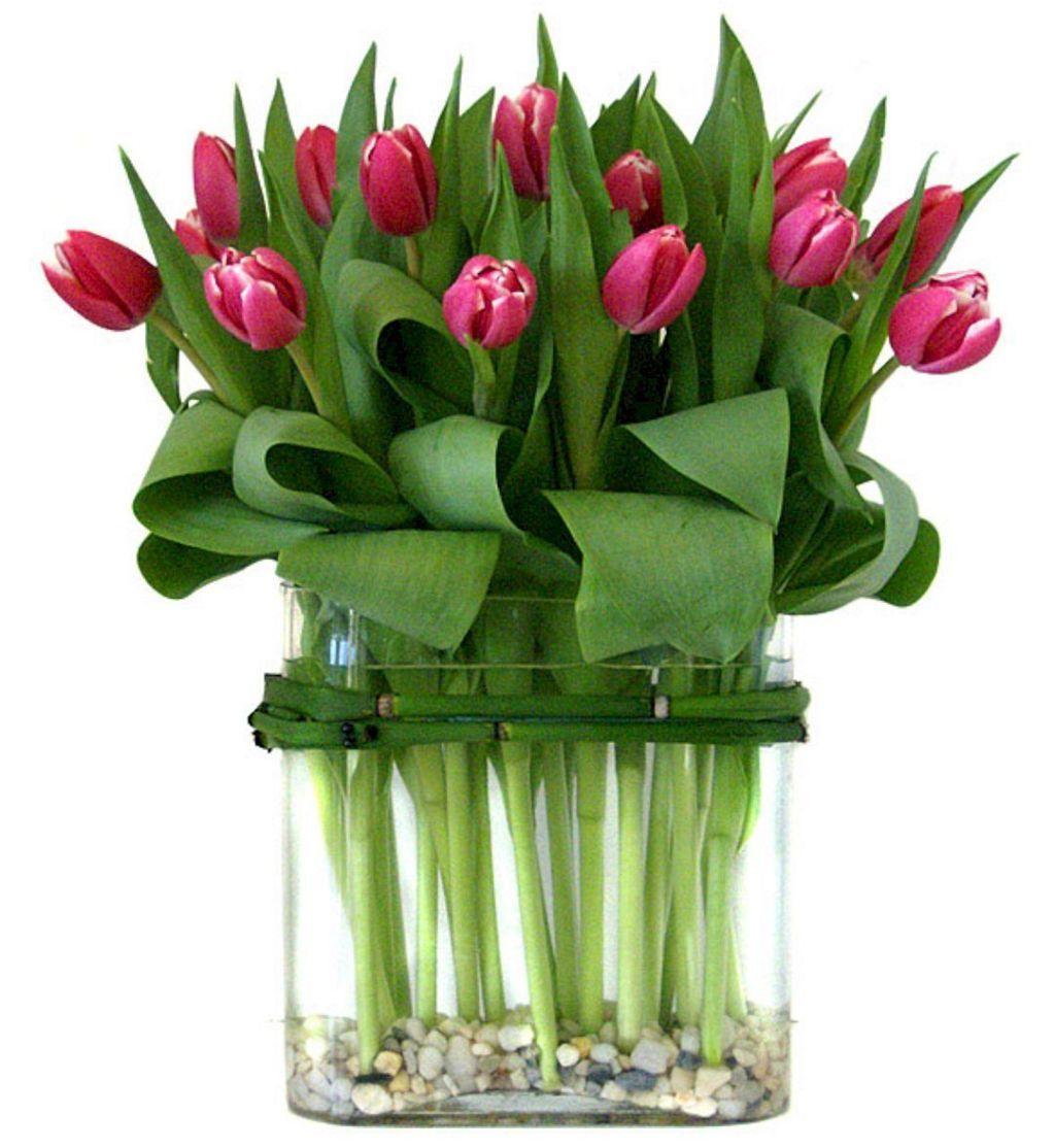 Adorable and cheap easy diy tulip arrangement ideas no 26