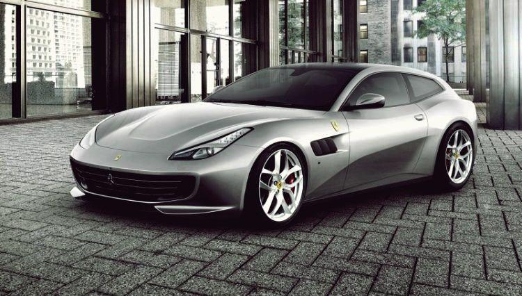 Ferrari Enthüllt Den Viersitzer Gtc4 Lusso T Mit Turbolader Ferrari Car Ferrari Sports Car