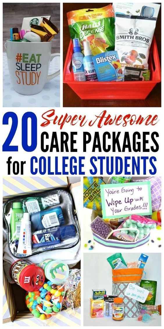 This is an amazing list of care package ideas for college students From finals survival kits to treats from home theres something for everyone