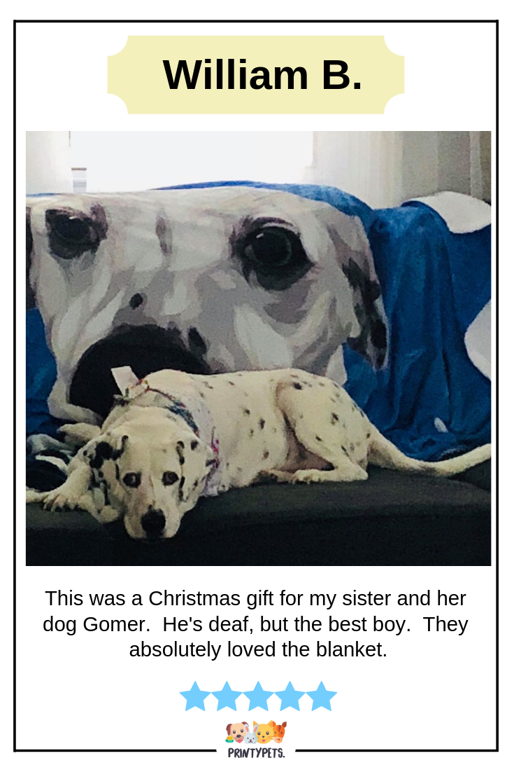 Custom Pet Print Fleece Blanket Pets Puppy Beds Unique Animals