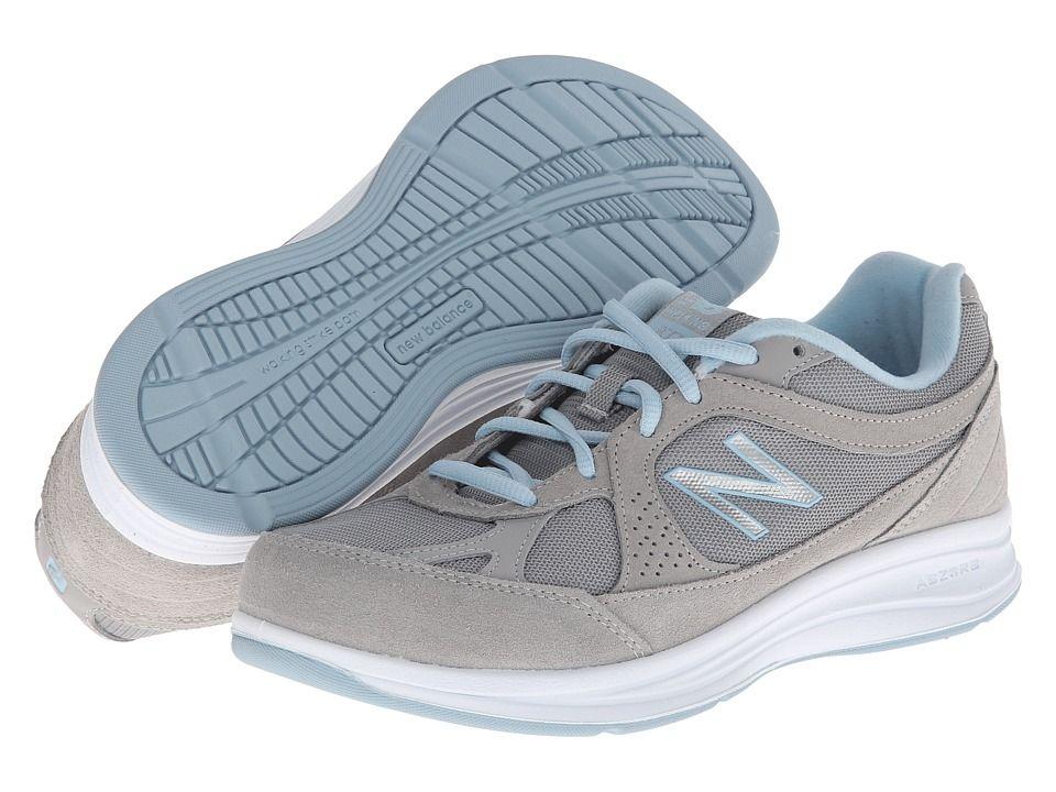 Top Fashion Womens Casual Shoes - New Balance WW877 Silver