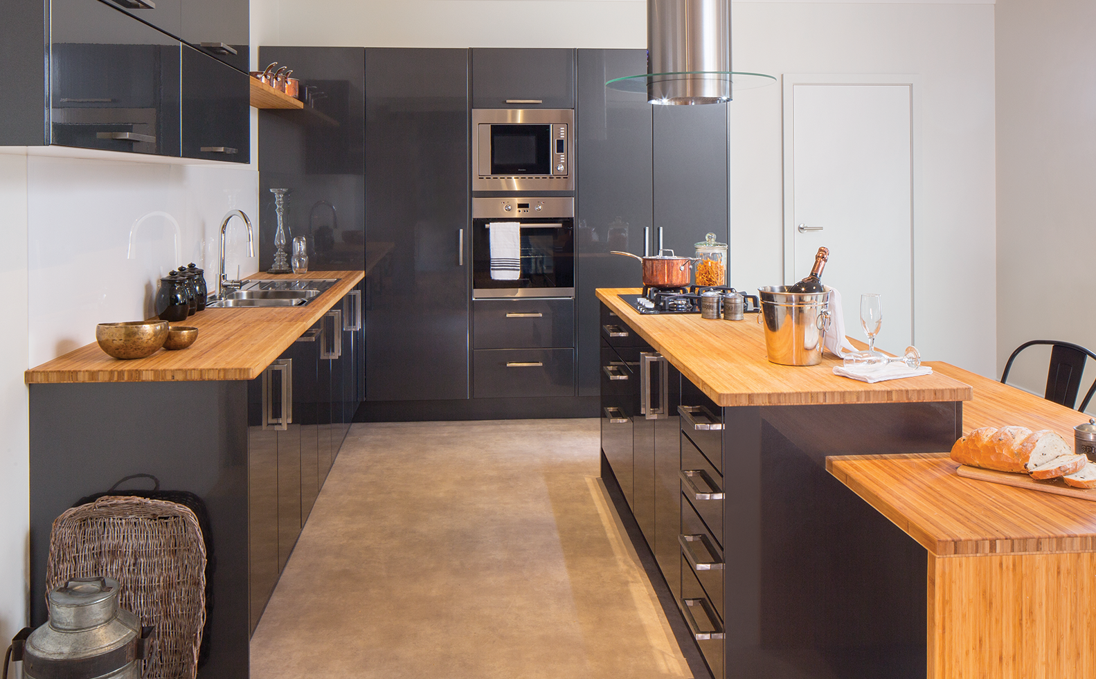 layout ideas kitchen inspiration gallery bunnings warehouse kitchen inspirations stylish on kaboodle kitchen design id=25361