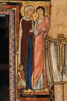 Maestro di Cesi. (attivo XIII sec. in Umbria) - Crocifisso di San Damiano