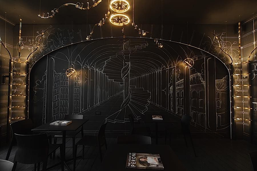 Art Installation at the House of Peroni | UX | Pinterest | Art ...