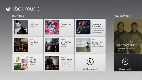 Microsoft devela servicio de música