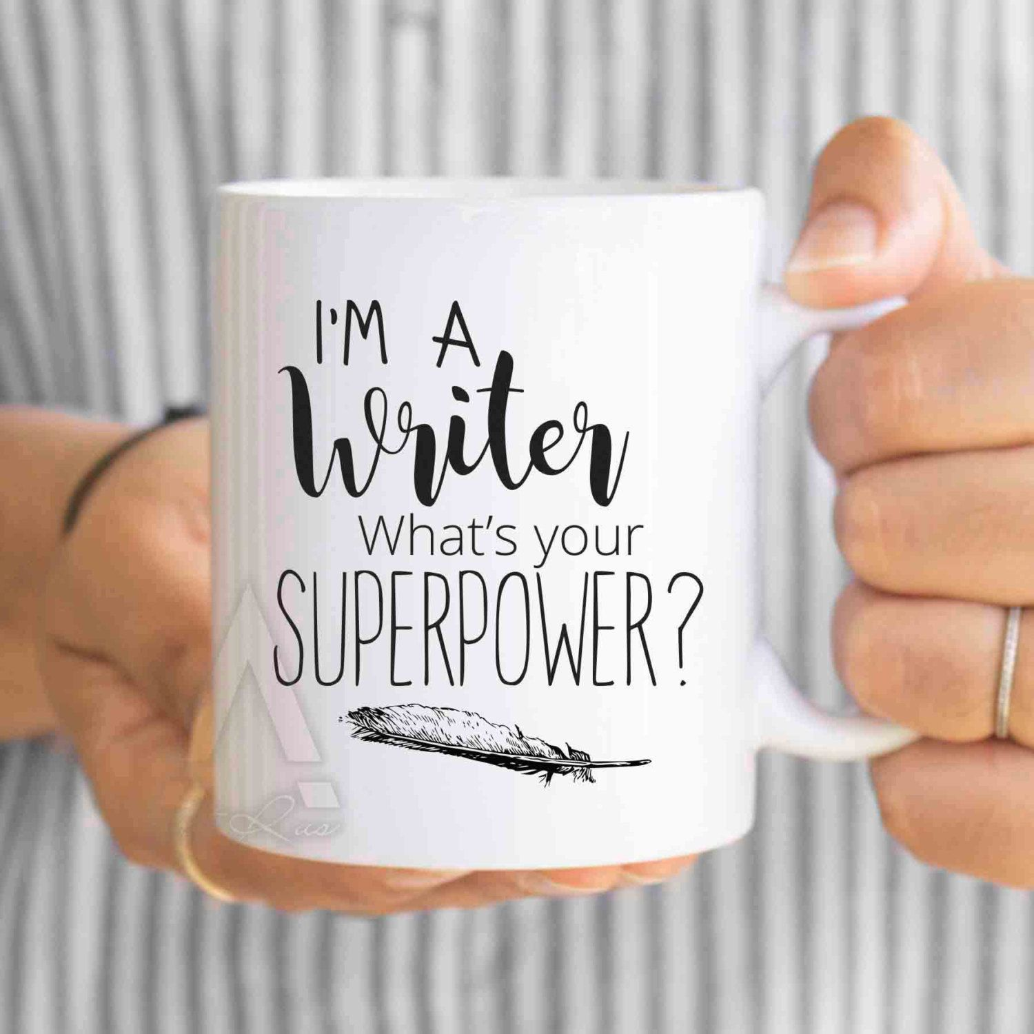 Writer Gift Mug I M A What S Your Super Gifts For Writers Authors Writing Unique Mu203 By Artruss On Etsy