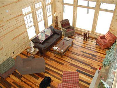 Reclaimed Wood Flooring And Paneling 3 7 Sqft Elmwood Reclaimed
