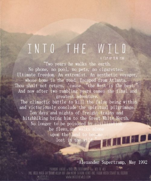 Into The Wild  Writer Quotes, Author Quotes, Writing Quotes-3916