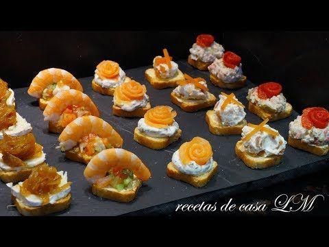 Ces De Cocina Youtube | Receta Riquisimos Canapes Aperitivos O Entrantes Calientes