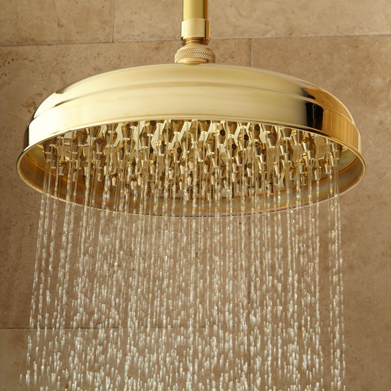 Lambert Rainfall Nozzle Shower Head | Brass shower head, Ceilings ...