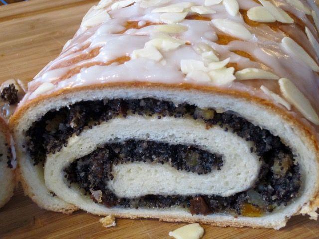 Poppy Seed Roll   International recipes, Slovak recipes ...