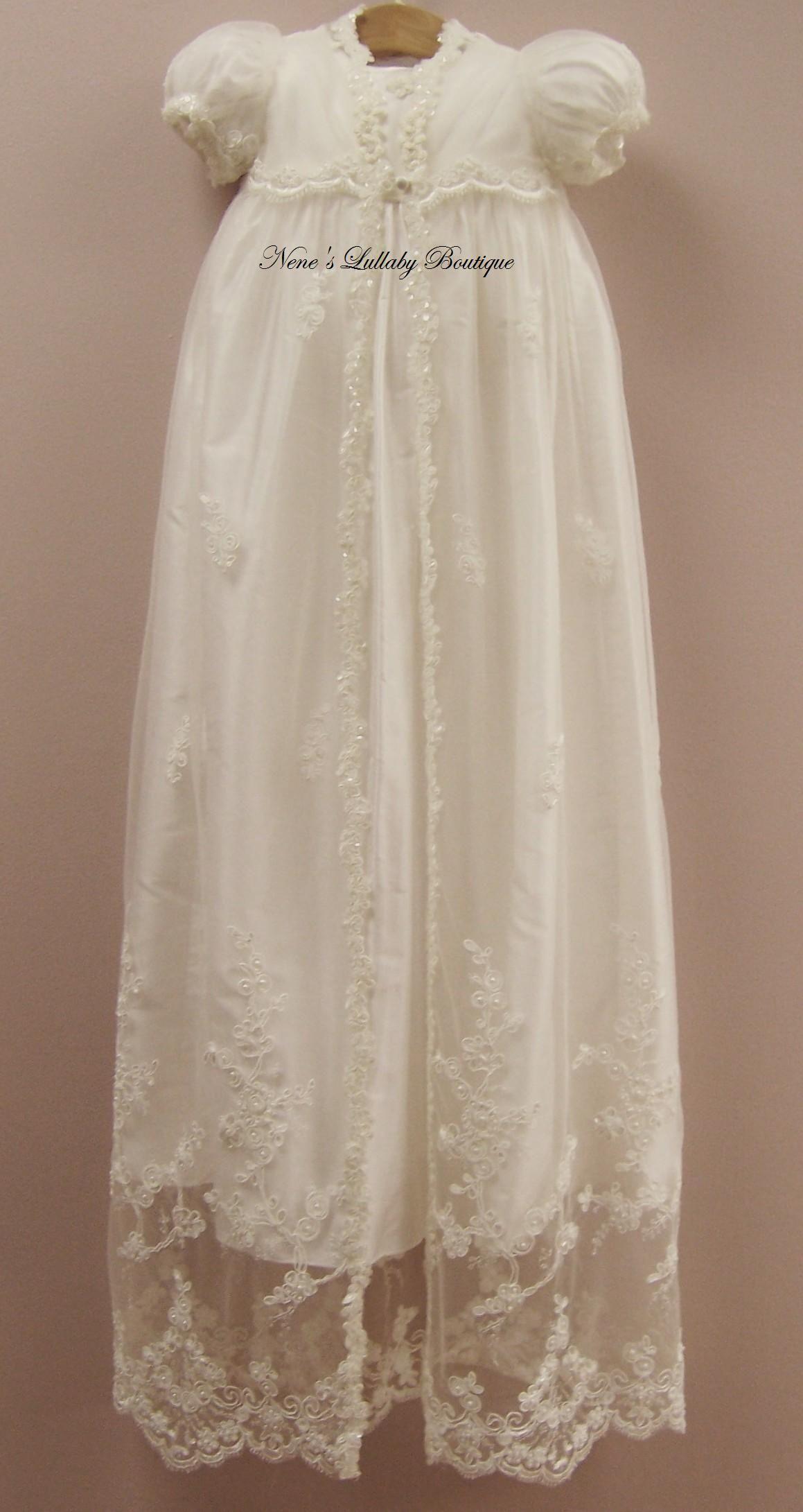 Piccolo Bacio Matilda Christening gown | baby | Pinterest | Piccolo ...