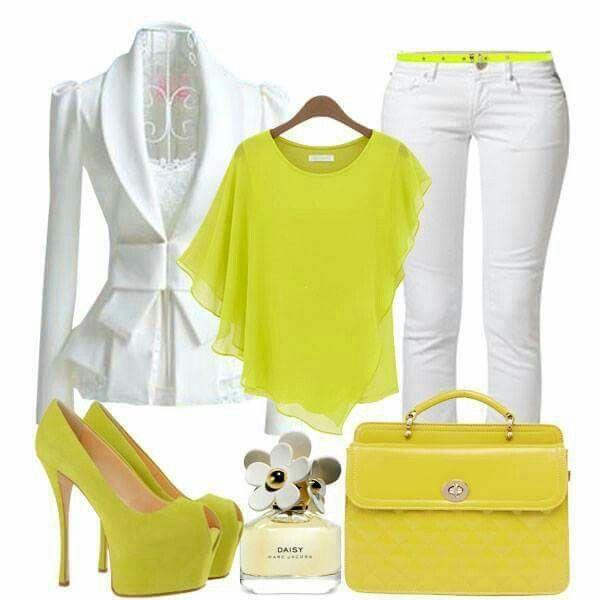 Yellow green summer