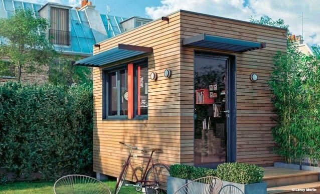 Bureau de jardin en bois garage en bois m nouveau garage