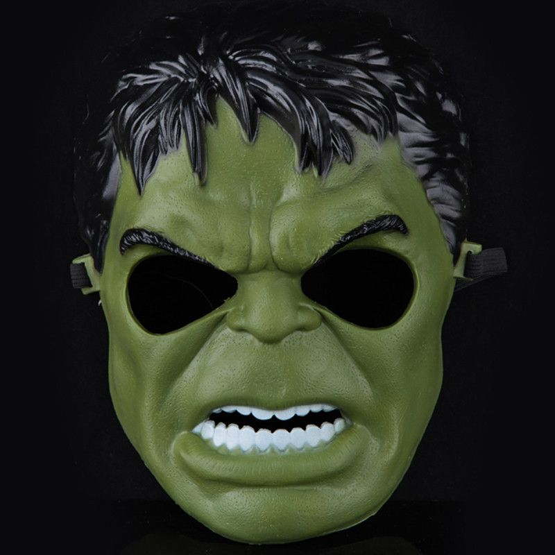 Incredible Hulk Green Giant Mask for Party Halloween Cosplay Costume For KID - Current (1991-Now) & Incredible Hulk Green Giant Mask for Party Halloween Cosplay Costume ...