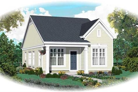 Country House Plan 2 Bedrms 2 Baths 1058 Sq Ft 170 1798
