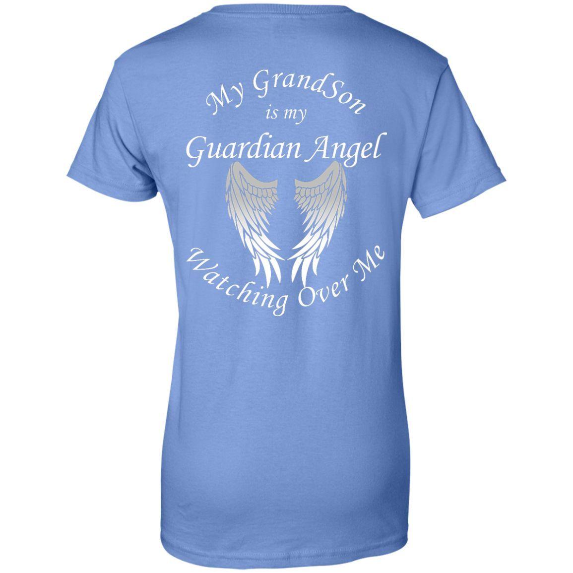 GrandSon Guardian Angel Lady T Shirt