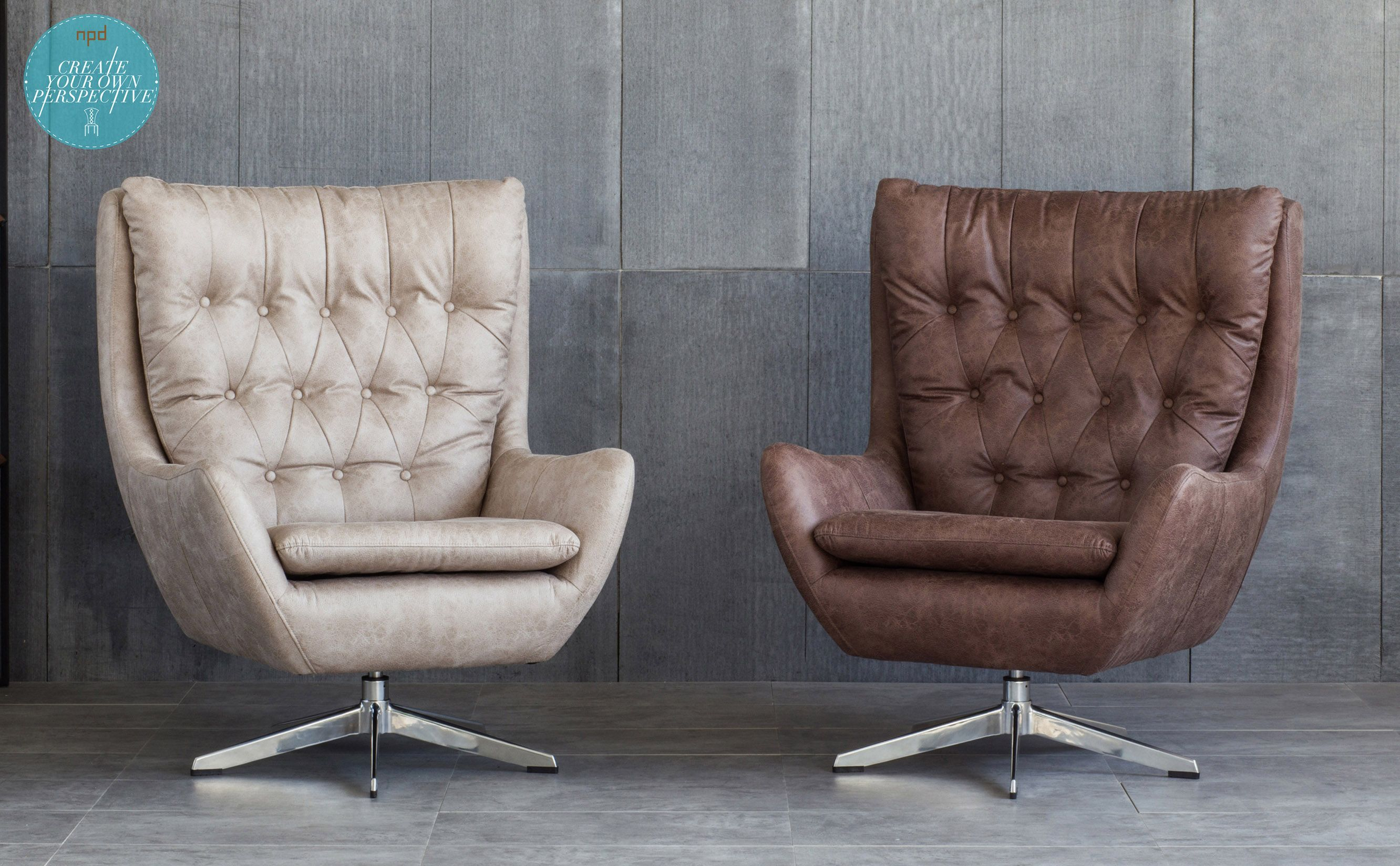 These handsome Skylar chairs illustrates MidCentury