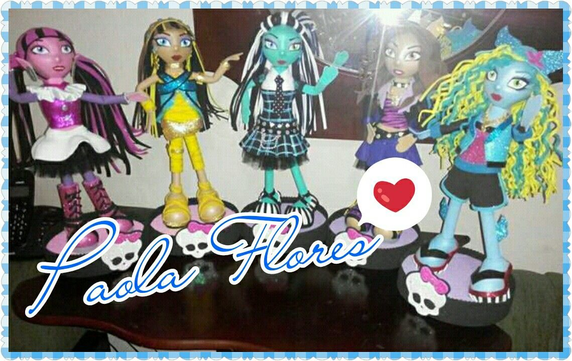 Fofuchas Monster high #esmitrabajo