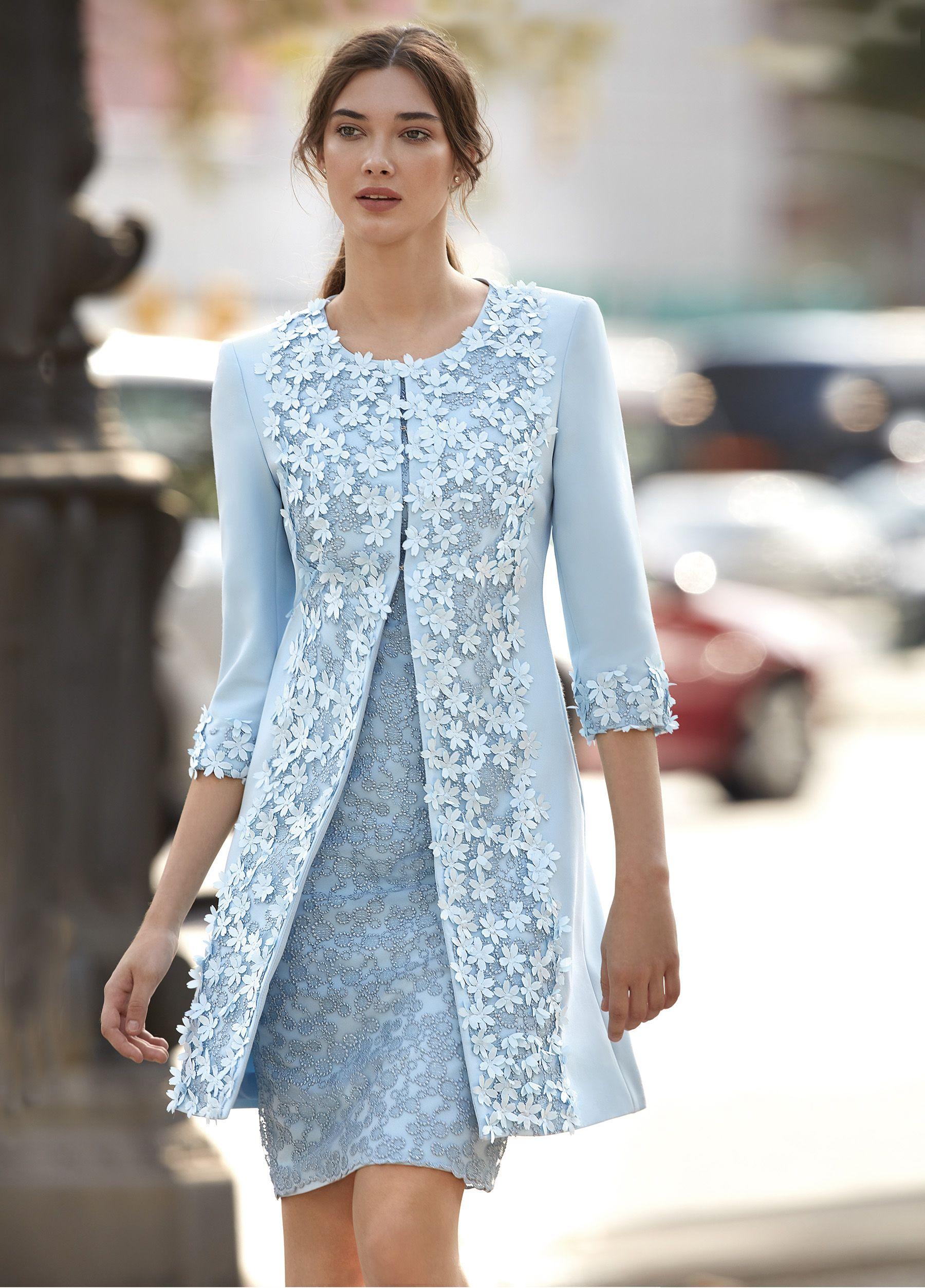 94537 Carla Ruiz Bride Clothes Short Wedding Guest Dresses