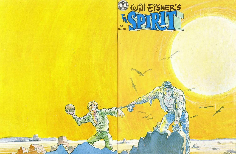 The Spirit Magazine 28 Cover - Will Eisner