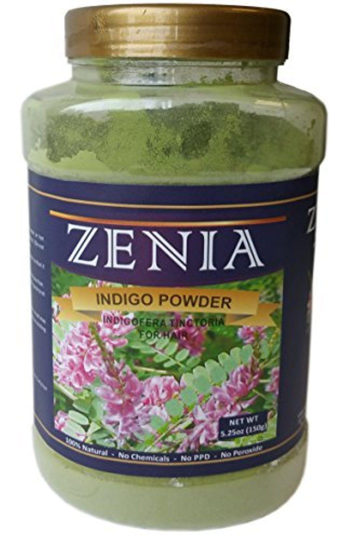 150g Zenia Indigo Powder Bottle Indigofera Tinctoria ...